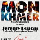 Mon Khmer feat. Jeremy Loucas to perform in Cloud 9