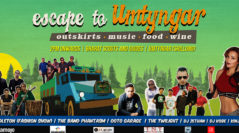 Escape to Umtyngar lineup announced